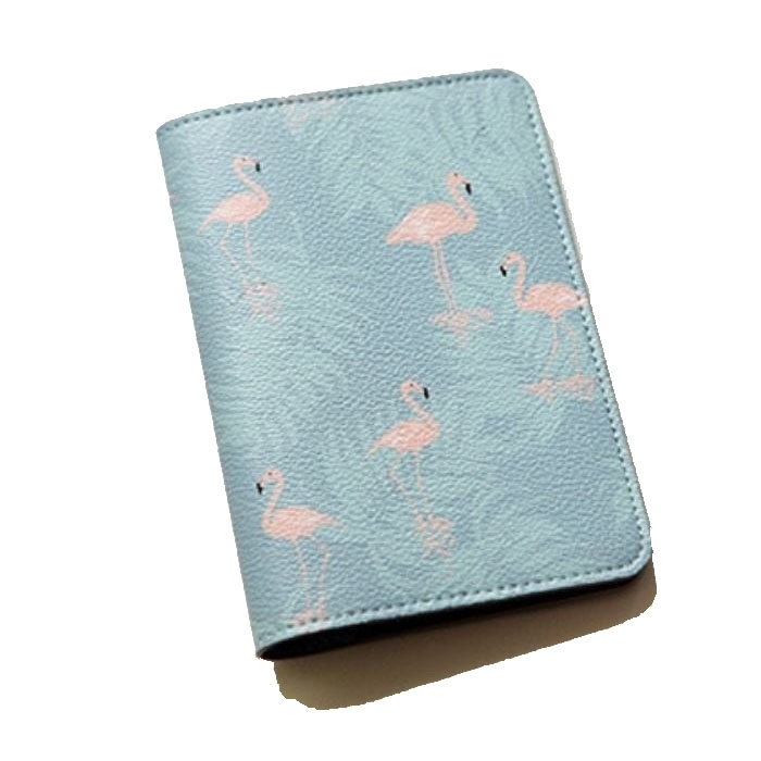 Husa pasaport/ Coperta Pasaport - Flamingo 1