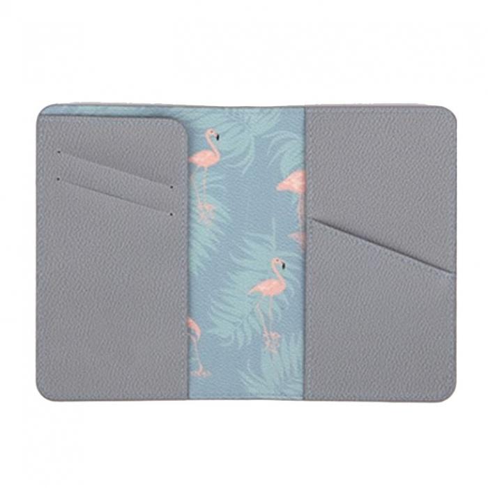 Husa pasaport/ Coperta Pasaport - Flamingo 2