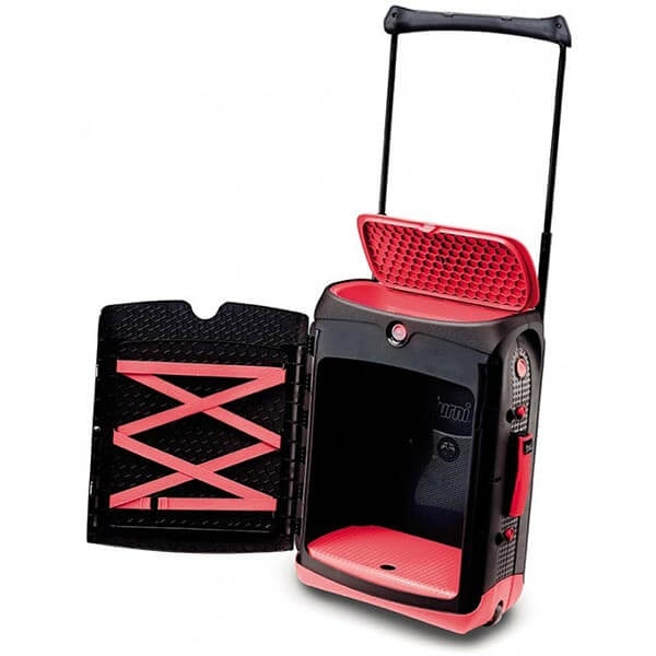Valiza TRUNKI Jurni Magma Red