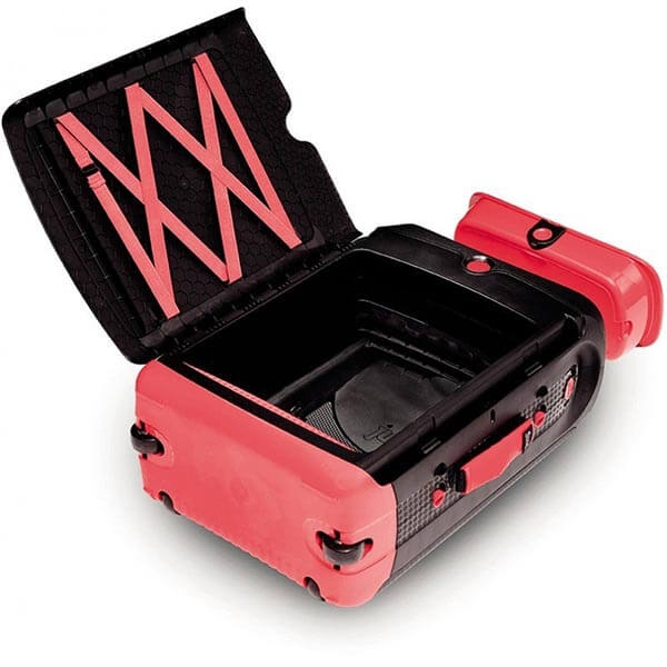 Valiza TRUNKI Jurni Magma Red 4
