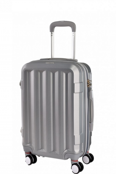 Klept Troler ABS TRAVEL-50 Argintiu