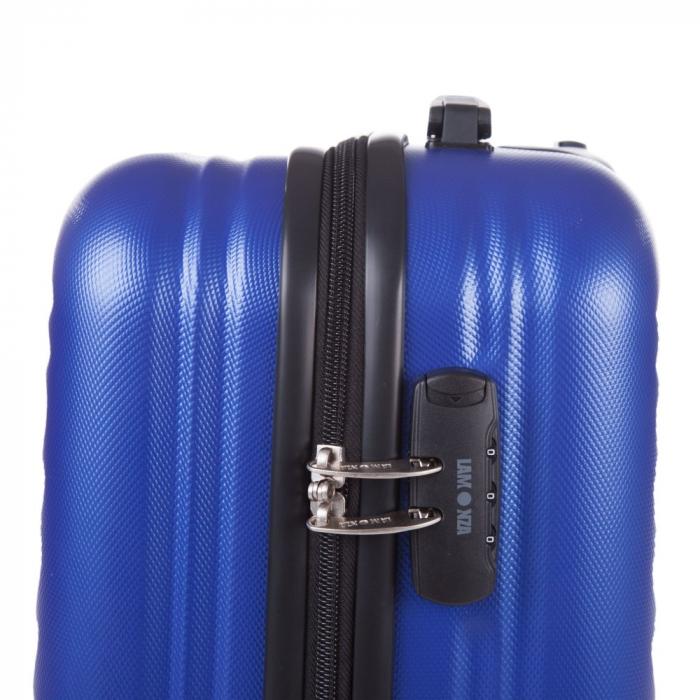 Troler Lamonza Fantasy albastru cu negru 55X31X22 cm 2