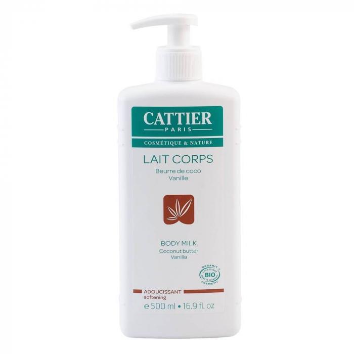Lapte de corp hidratant vanilie si cocos, 500 ml - CATTIER INBAGAJ 0