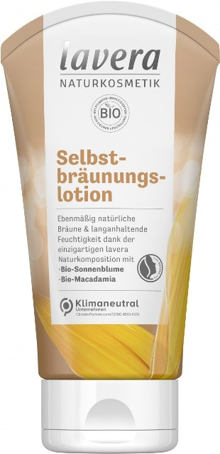 Autobronzant bio lotiune 150ml - LAVERA [1]