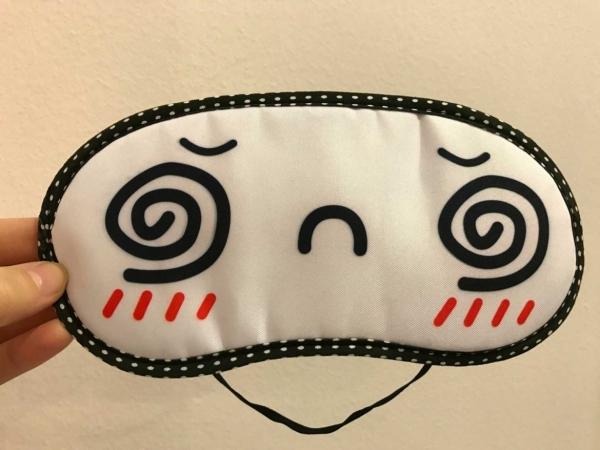 Masca de somn pentru calatorie Hypnotized 0