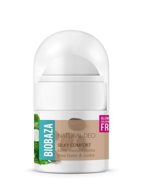 Mini deodorant natural pentru femei SILKY COMFORT - 20ml 0