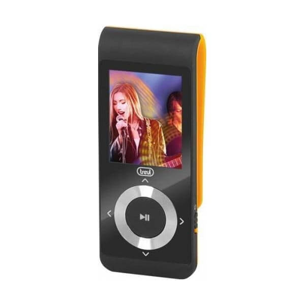 "MP3 Player TREVI MPV 1728, 4GB, MicroSD-in, Display LCD 1.8"", Radio FM, Portocaliu 0"