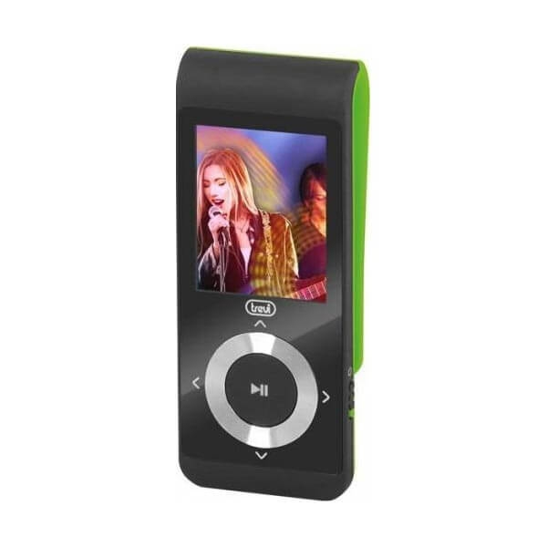 "MP3 Player TREVI MPV 1728, 4GB, MicroSD-in, Display LCD 1.8"", Radio FM, Verde 0"