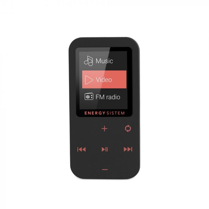 MP4 Player Energy Sistem TOUCH 8GB Bluetooth Negru/Coral inbagaj 1