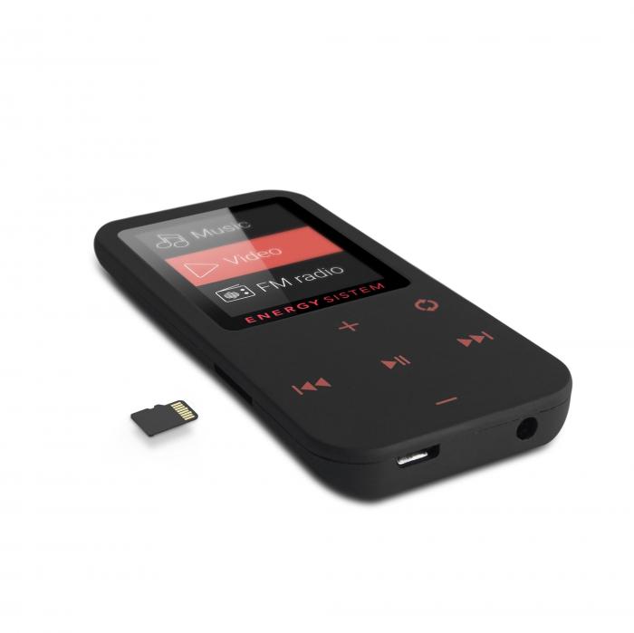 MP4 Player Energy Sistem TOUCH 8GB Bluetooth Negru/Coral inbagaj 4