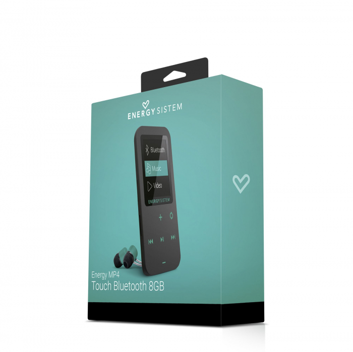 MP4 Player Energy Sistem TOUCH 8GB Bluetooth Negru/Verde 4