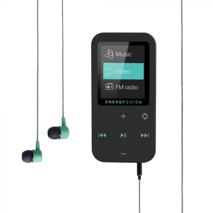 MP4 Player Energy Sistem TOUCH 8GB Bluetooth Negru/Verde 2