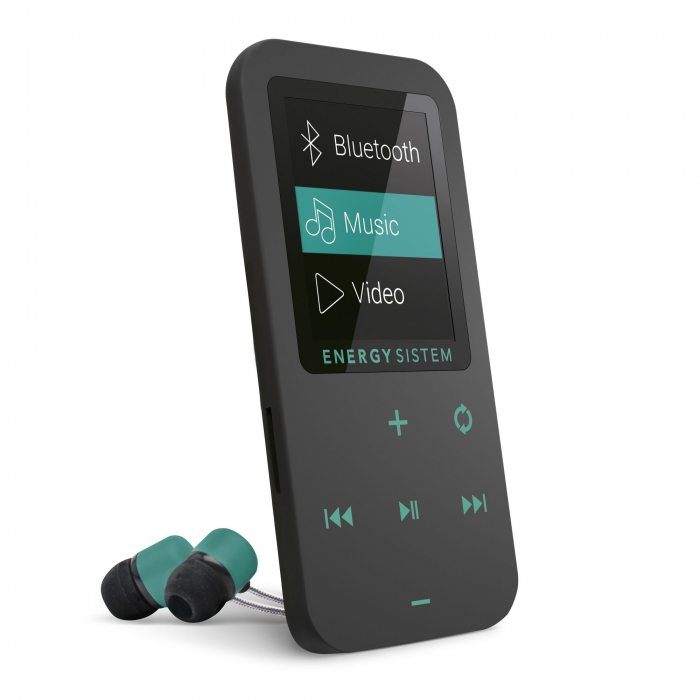 MP4 Player Energy Sistem TOUCH 8GB Bluetooth Negru/Verde 0