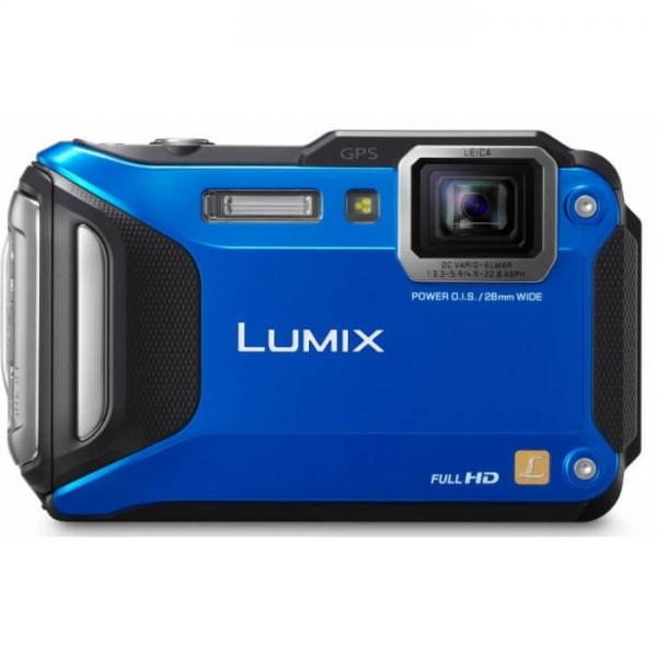 Camera foto Panasonic DMC-FT5EP-A, Albastra 0
