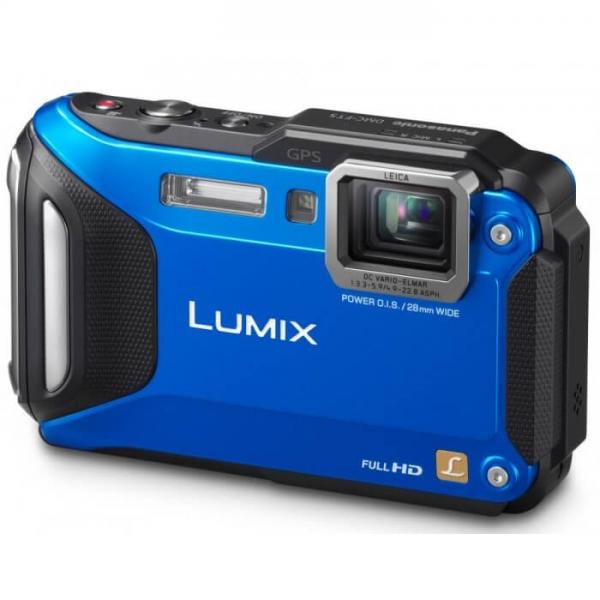 Camera foto Panasonic DMC-FT5EP-A, Albastra 1