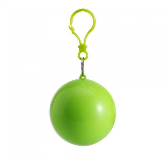 Pelerina de ploaie in bila cu carlig - Verde 0