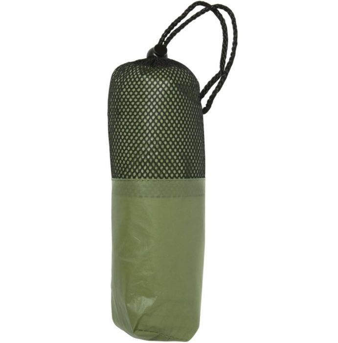 Poncho / pelerina de ploaie cu gluga - Verde 0