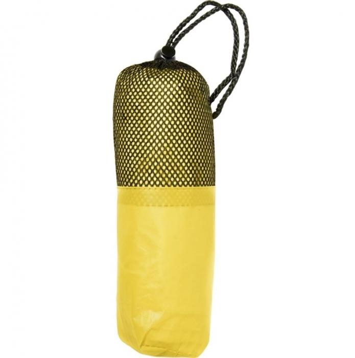 Poncho / pelerina de ploaie cu gluga - Galbena 0