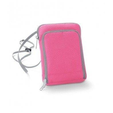 Geanta-portofel pentru calatorii roz