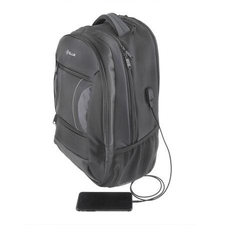 "Rucsac-troller laptop Tellur Carry 15.6"", USB, negru 2"