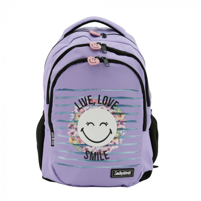 Rucsac Lamonza Smiley World Blossom 45x31x16 cm 0