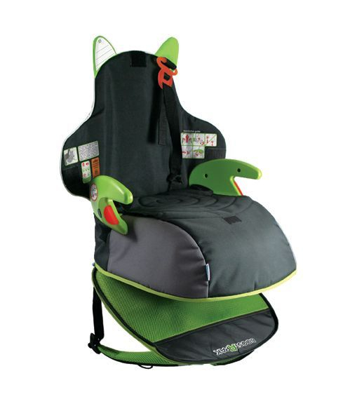 Rucsac-scaun inaltator Trunki BoostApak Verde 2