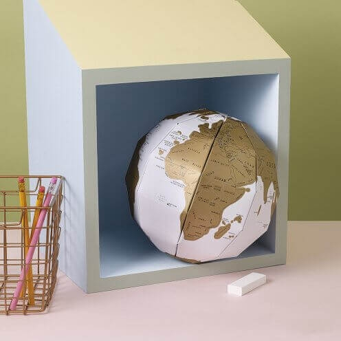 Globul Pamantesc Razuibil 3D 0