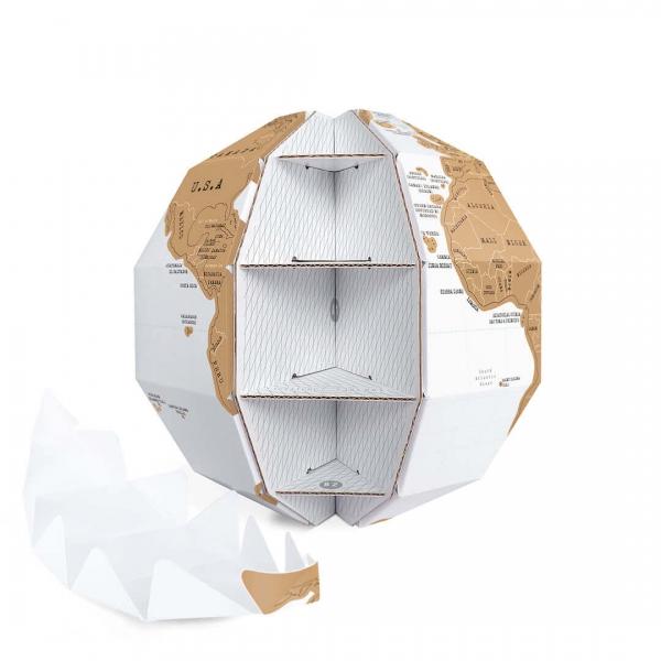 Globul Pamantesc Razuibil 3D 2