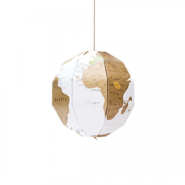Globul Pamantesc Razuibil 3D 3