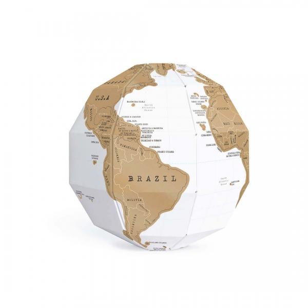 Globul Pamantesc Razuibil 3D 4