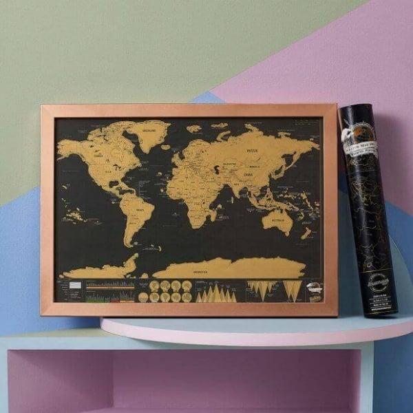 Harta Razuibila Deluxe Neagra