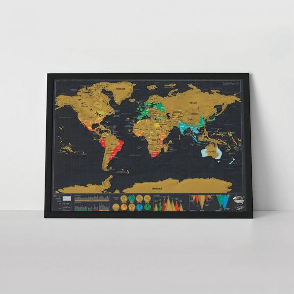 Harta Razuibila Deluxe Neagra 1