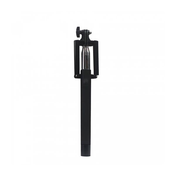 Wired Selfie Stick Tellur Z07-5 Plus, Piano Black,Plug and Play ,3.5mm jack, compatibil Apple si Samsung 0