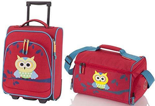 Set Travel Bufnita - Troler cu 2 roti si geanta de voiaj 0