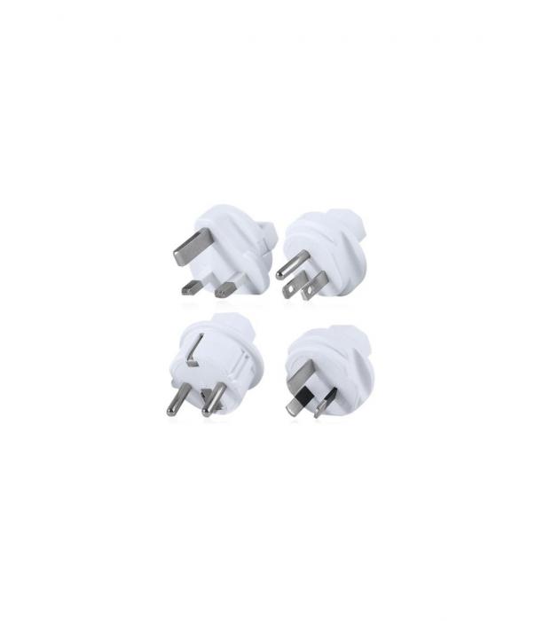 Set 4 adaptoare pentru P-CUBE-REV Allocacoc ADAPT-TRAVEL-03WE 0