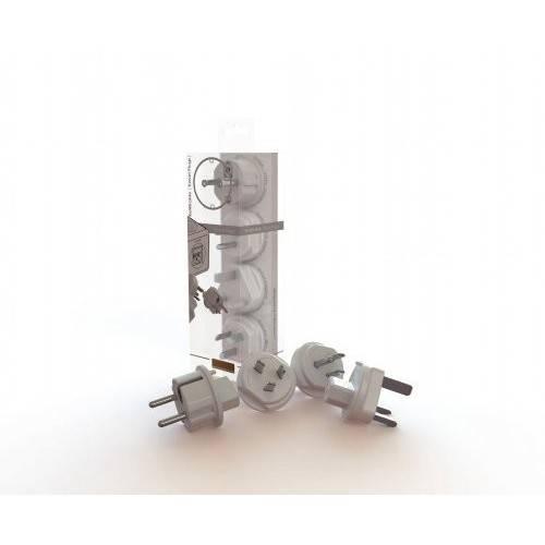 Set 4 adaptoare pentru P-CUBE-REV Allocacoc ADAPT-TRAVEL-03WE 2