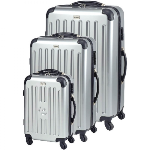 Set trolere New York (S,M,L) Argintiu Princess Traveler