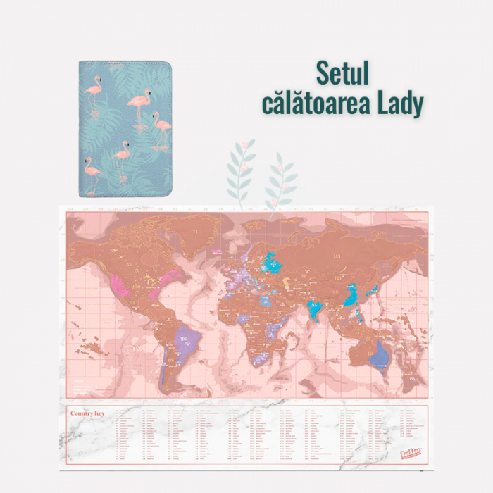 "Set travel ""Calatoarea Lady"" 0"