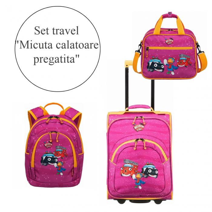 """Set travel """"Micuta calatoare pregatita"""" 0"""