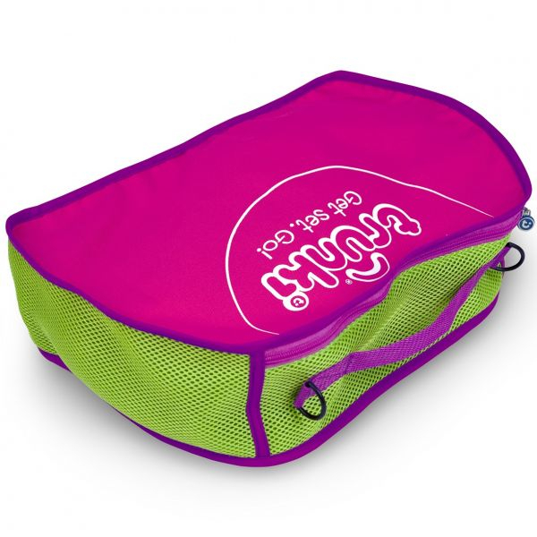 Set travel pentru copii - Valiza TRUNKI Rosie + Trunki Tidy Bag Pink 8