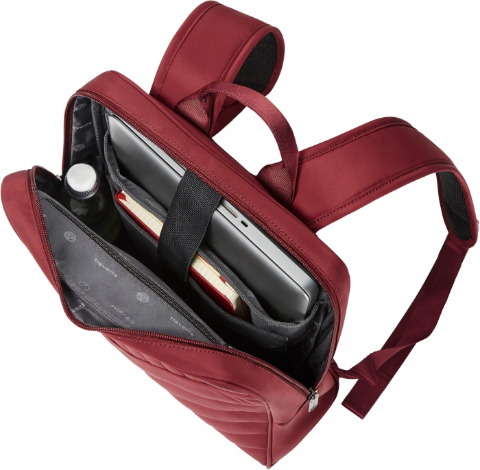 Set trolere Travelite JADE 4 roti 54cm, geanta de umar si rucsac (USB incorporat) 4