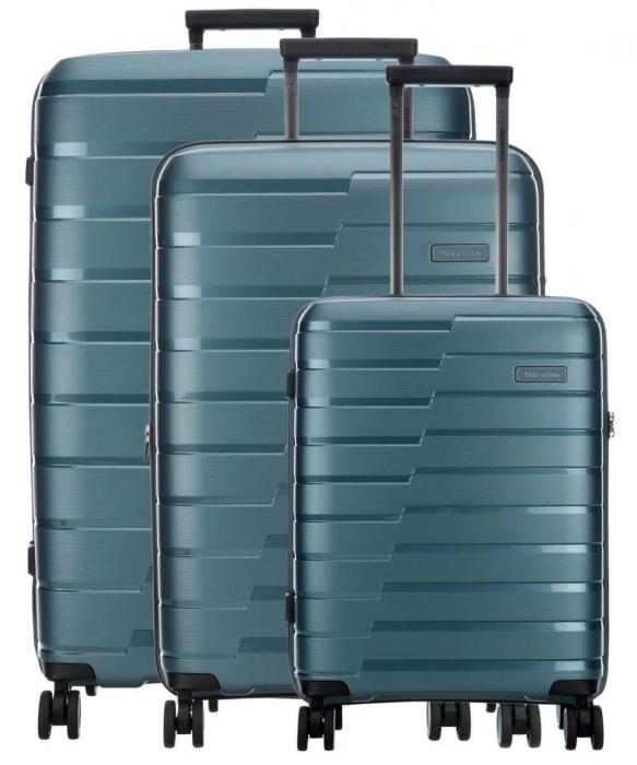 SET Trolere Travelite AIR BASE 4 roti duble S, M, L 0