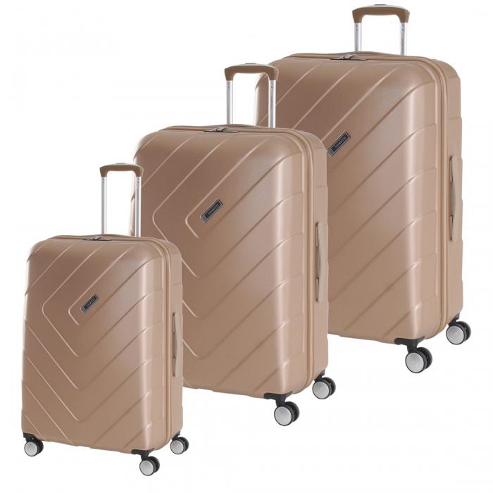 SET Trolere Travelite Kalisto 4 roti S,M extensibil, L 0