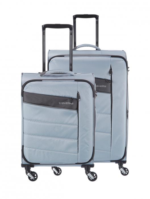 SET Trolere Travelite KITE 4w S,Mexp - Argintiu 0