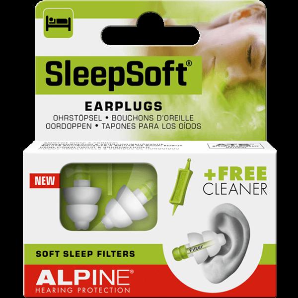 Dopuri de urechi Alpine Sleepsoft 0