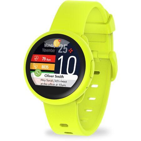 Smartwatch MyKronoz ZeRound 3 Lite Rezistent la apa  - Galben/ Galben [1]