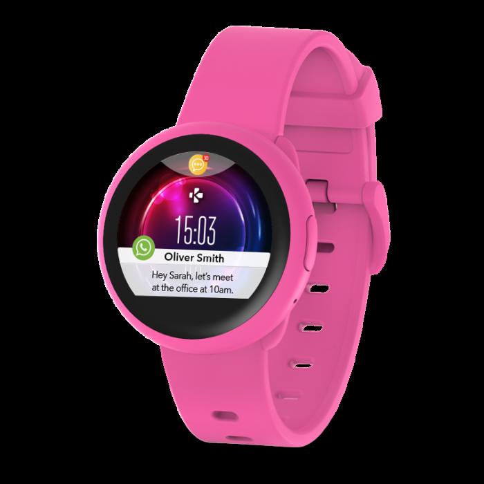 Smartwatch MyKronoz ZeRound 3 Lite Rezistent la apa - Roz/ Roz 1