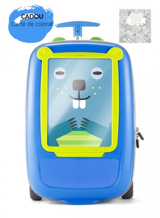 Troler Benbat GoVinci Blue   Green 0