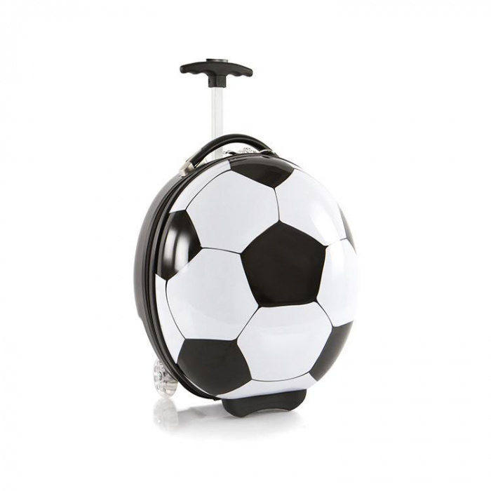 Troler copii cu 2 roti Heys Fotbal  41 cm  inbagaj [0]