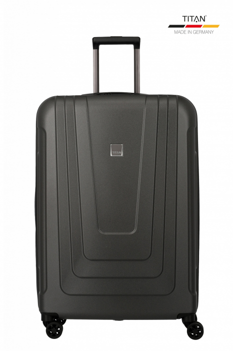 Troler de cala TITAN X-RAY PRO M ( 52 x 77 x 29 cm) - Amprenta digitala si USB inclus 0
